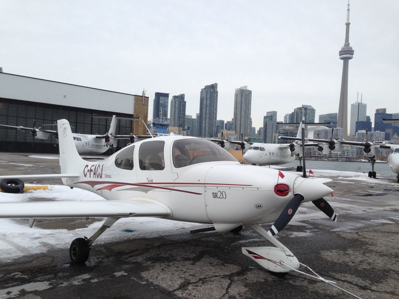 The Cirrus at City airport